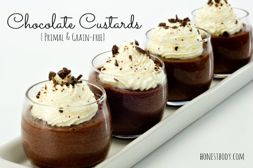 Simple Primal Chocolate Custard Honest Body
