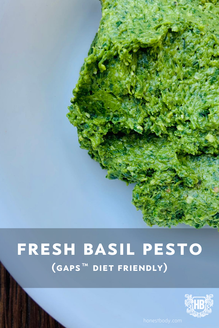 Basil Pesto GAPS Diet