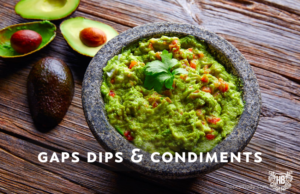 GAPS Dips & Condiments