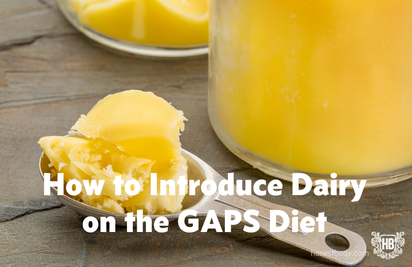 How to Introduce Dairy on GAPS