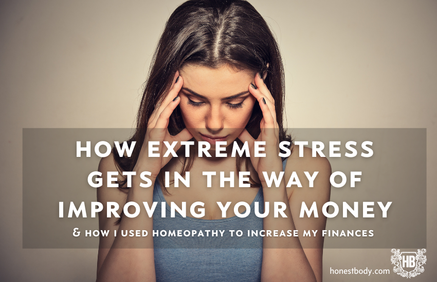 Homeopathy for extreme stress